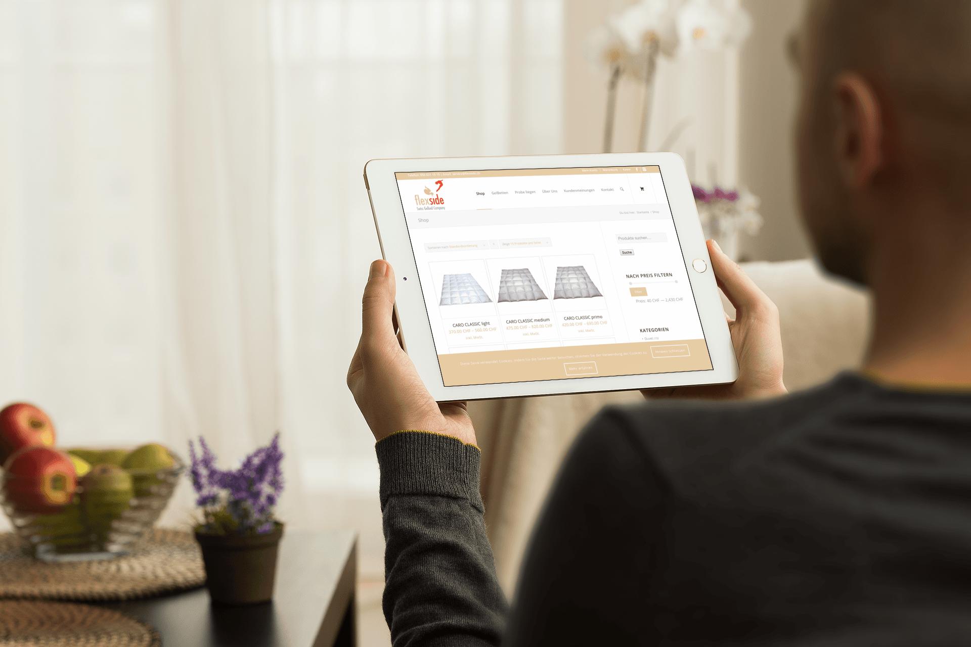 Flexside AG – Swiss Gelbed Company